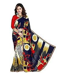 Gopika Creation Women's Georgette Saree_gop79_Multicolored_Freesize