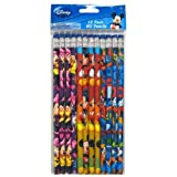 Disney Mickey Mouse Minnie Mouse Goofy Pencils - 12pk #2 Mickey n Friends Pencils