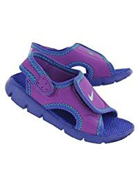Nike Kid's Sunray Adjust 4 (GS/PS) Sandals 7Y Laser Purple
