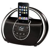 Jensen JISS-100 Portable iPod MP3 Docking Speaker Station w/AM FM Radio