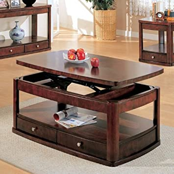 Evans Collection Lift Top Coffee Table