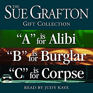Sue Grafton ABC Gift Collection Audiobook