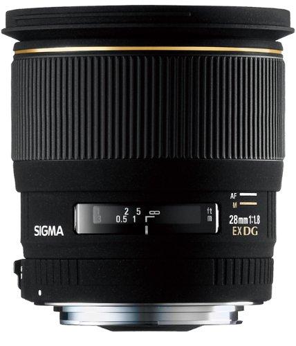 Sigma 28mm f/1.8 EX DG Lens Canon Fit
