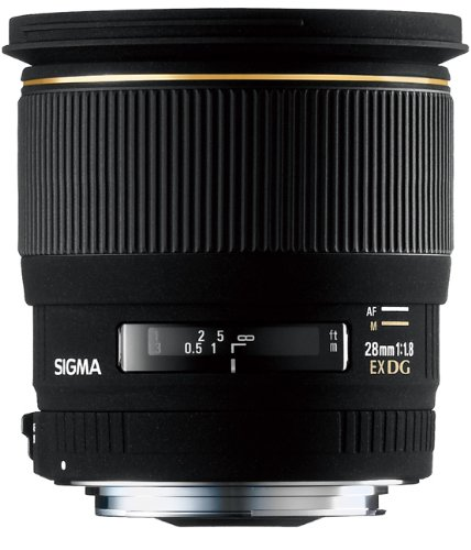 Sigma 28mm f/1.8 EX DG LensNikon Fit Black Friday & Cyber Monday 2014