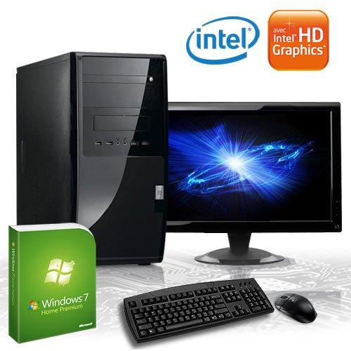 KCS [184416] - Komplett-Set mit TFT-Monitor (47cm) Silent-PC | Intel Dualcore G530 (2x 2400MHz) | 4GB DDR3-1333 | 500 GB SATA2 | Intel HD Grafik (DVI, VGA) FullHD (1080p) | ASUS P8H61-M LE/USB3 (B3) rev3.0 | 22xDVD-RW | 6-Kanal-Sound | Gigabit-LAN | Cardreader | 400W | Maus+Tastatur | Microsoft Windows 7 Home Premium 64-Bit