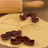 Fred N' Friends Cookie Cutter Set - Munchstache Cookie Cutters
