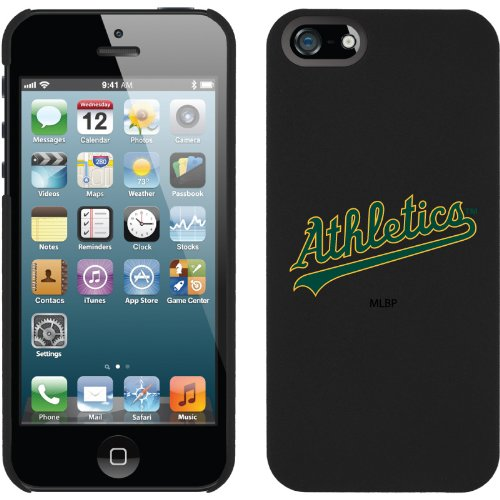 Great Sale MLB Oakland Athletics iPhone 5 Snap-On Case - Black