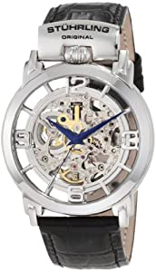 Stuhrling Original Men's 165F.33152 Classic Winchester General Automatic Skeleton Stainless Steel Watch