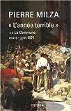 echange, troc Pierre Milza - L'année terrible : Tome 2, La Commune (mars-juin 1871)