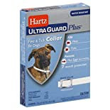 Hartz Ultra Guard Plus Flea & Tick Collar, for Dogs, White, Fresh Scent, 1 collar 0.92 oz (26 g)