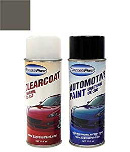 expresspaint aerosol ford mustang automotive touch up paint med dark graphite. Black Bedroom Furniture Sets. Home Design Ideas