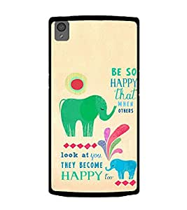 ifasho Designer Phone Back Case Cover OnePlus X :: One Plus X ( Gaay Cow Ma )