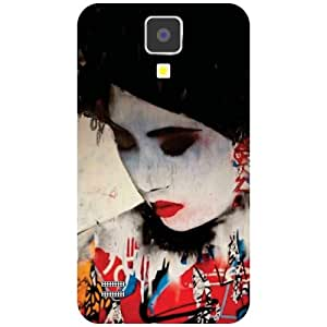 Samsung I9500 Galaxy S4-Sleeping Beauty Matte Finish Phone Cover