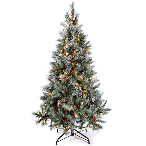 werchristmas-5-ft-pre-lit-scandinavian-blue-spruce-pine-cone-and-berry-christmas-tree-with-200-warm-