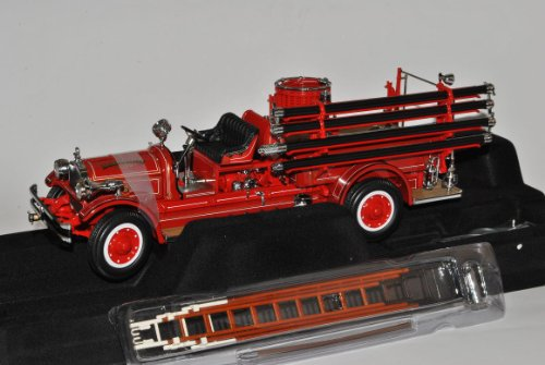 Seagrave 1927 Rot Feuerwehr Signature 1/24 Yatming Modell Auto