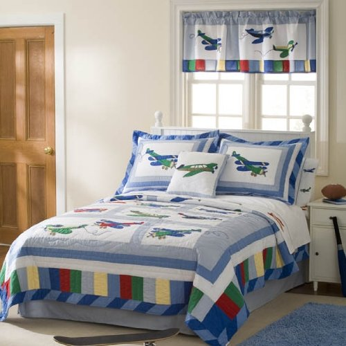 Airplane Bedding For Boys front-526870