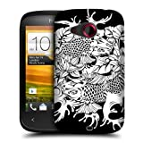 Head Case Utsuri Black And White Koi Fish Tattoo Hard Back Case For Htc Desire C
