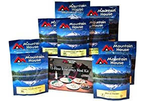 Mountain House Buckets and Kits, 72 Hour Kit