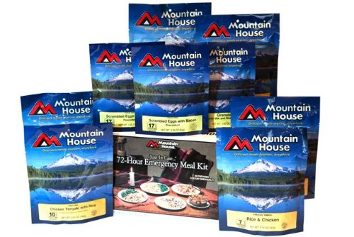 Mountain House 72- Hour Emergency Meal Kit