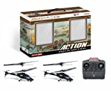 RC Helicopter Twin Fighter Pack UKayed Combat Action Fighter