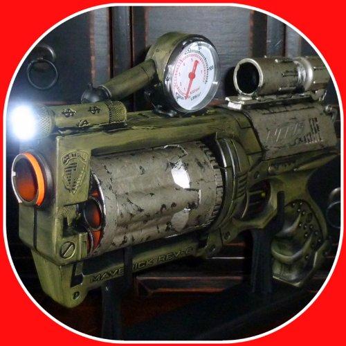 Steampunk gun Victorian Nerf N-Strike Maverick Zombie Fall Out Soft Dart toy