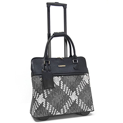 cabrelli-mindy-mingle-15-laptop-bag-on-wheels-black-white