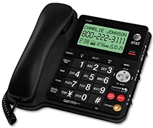 AT&T CL4939B Corded Phone 1 Handset Black