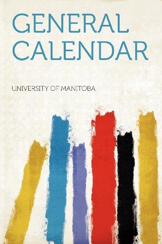 General Calendar Volume 1899-1900