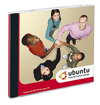 Ubuntu 6.06 LTS DVD (PC Edition) (Jewel Case)