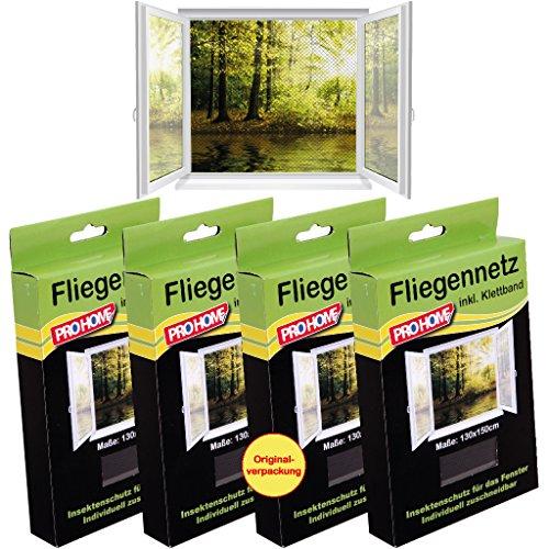 muckennetze-4er-pack-schwarz-insektenschutz-fliegennetz-von-pro-home