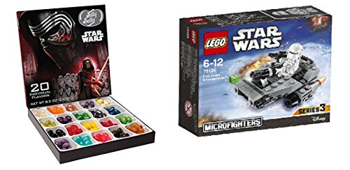 LEGO Star Wars Microfighters With a Star wars Jelly belly Gift box (75126 - First Order Snowspeeder)