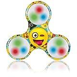 Kangaroo's Emoji LED Fidget Spinner