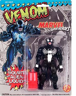 Buy Marvel Super Heroes : Venom with Squirting Alien Liquid Action Figure