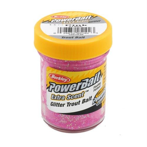 Berkley  Powerbait Glitter Trout Bait, Pink, 1.75-Ounce