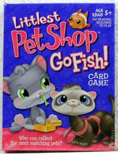Hasbro littlest pet shop go fish card game ebay for Go fish store