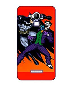 Happoz Coolpad Note 3 Plus Cases Back Cover Mobile Pouches Shell Hard Plastic Graphic Armour Premium Printed Designer Cartoon Girl 3D Funky Fancy Slim Graffiti Imported Cute Colurful Stylish Boys D096
