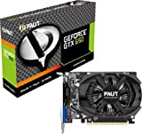 Palit GeForce GTX 650 Nvidia Graphics Card (1GB GDDR5, PCI Express 3.0, Mini HDMI, DVI-D, VGA, DirectX 11.0, OpenGL 4.2, Kepler GPU Architecture, 3D Vision Ready)