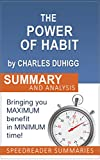 img - for The Power of Habit by Charles Duhigg - Why We Do What We Do in Life and Business: An Executive Summary and Analysis book / textbook / text book