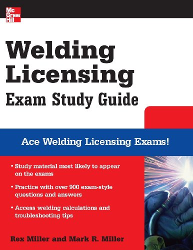 Welding Licensing Exam Study Guide - McGraw-Hill Professional - MG-007149376X - ISBN:007149376X
