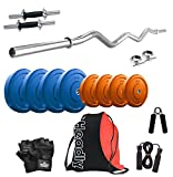 Headly 16kg Combo 3 Premium Coloured Home Gym