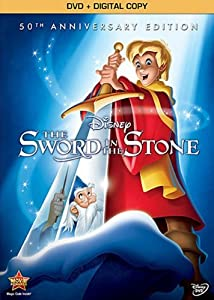 Sword in the Stone: 50th Anniversary Edition (DVD + Digital Copy) from Walt Disney Home Entertainment