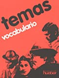 img - for Temas, Vocabulario book / textbook / text book