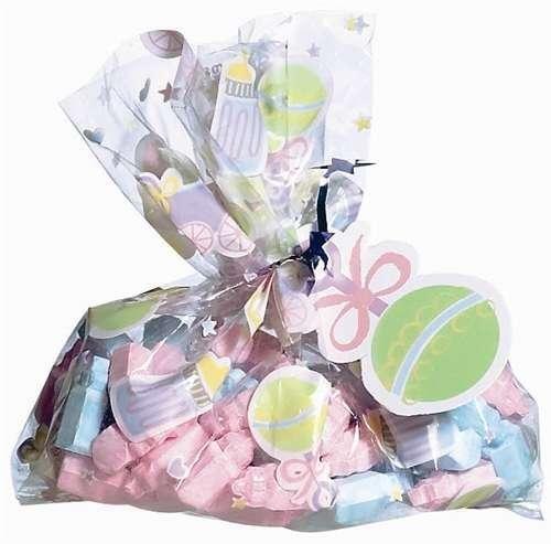 Multi Color Mini Favor Bag Kit 24Ct front-1010247