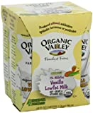 Organic Valley Vanilla 1% 4 Pack Single Serve, 8-Ounce (Pack of 6)