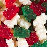 Christmas Gummy Bears Candy 1LB Bag
