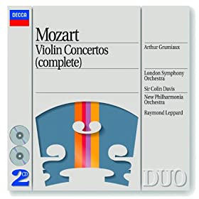 Mozart: Rondo for Violin and Orchestra in C, K.373