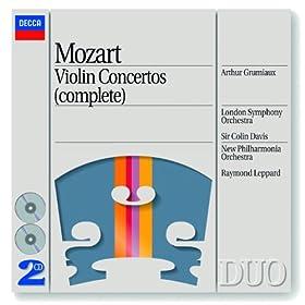 Mozart: Violin Concerto No.5 in A, K.219 - 3. Rondeau (Tempo di minuetto)