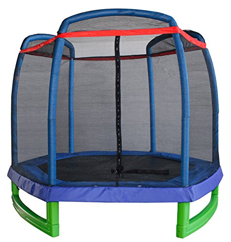 Great Deal! Merax 7FT Kids Trampoline and Enclosure Set