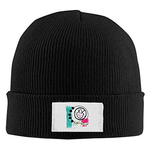 T yuuk Unisex Moda Blink 182Kniting lana berretto cappello Black Taglia unica
