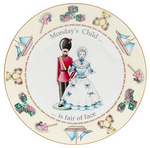 Buy Royal Worcester Days of the Week Earthenware 8-Inch Plate, Monday